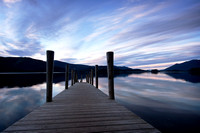Derwent Water at Ashness Gate Jetty