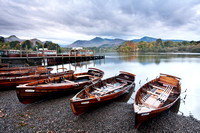 Early morning boats at Friars Crag, Keswick