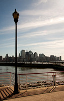 Manhattan skyline from Jersey City'